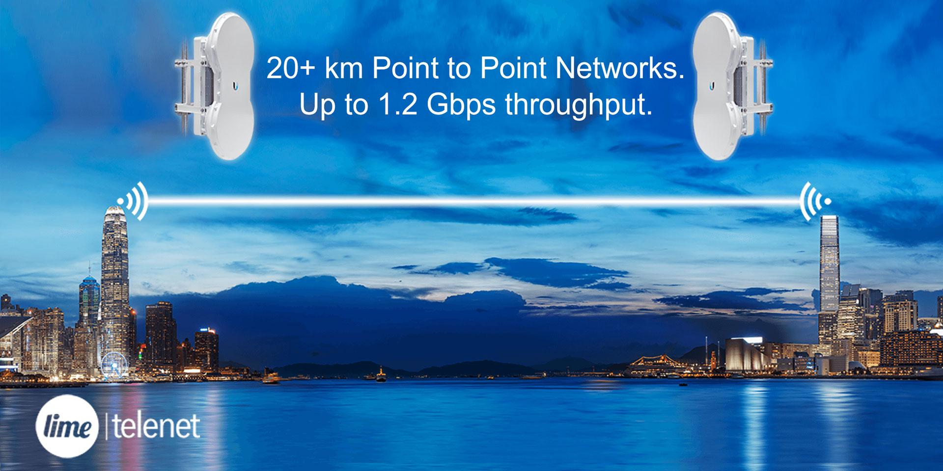 Wireless Point to Point - Lime Telenet | Ontario